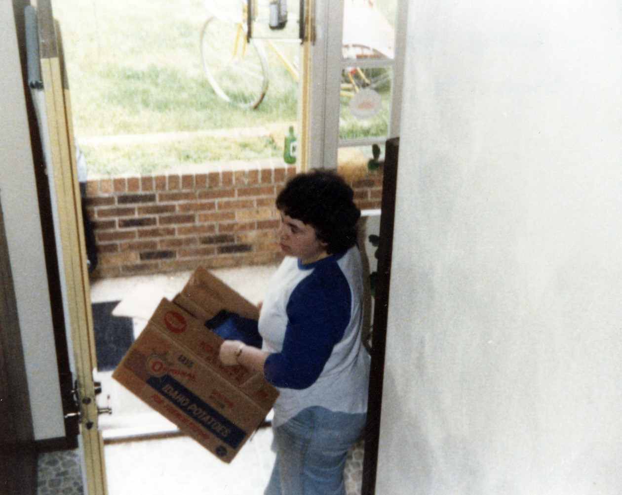 Moving out of Sigourney - 1980